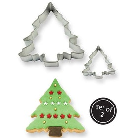 Pepparkaksform Julgran set 2 st