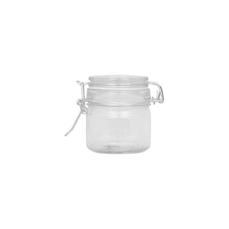 Glasburk med snäpplock 200 ml