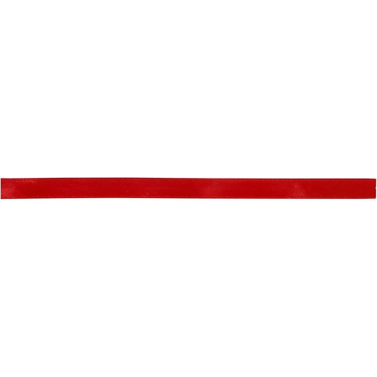 Satinband röd 10mm 10m