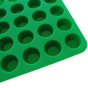 Pralinform Knäck Grön