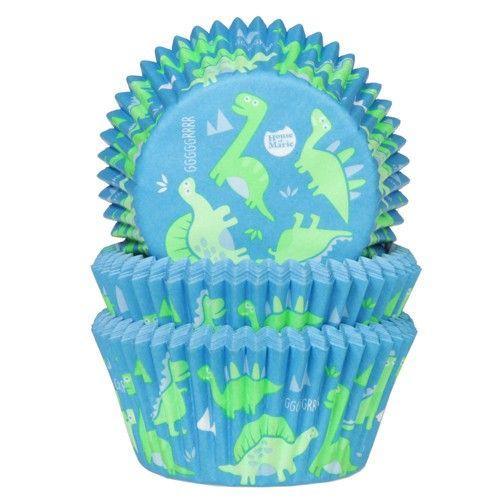 Muffinsformar Dinosaurier