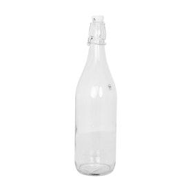 Glasflaska med patentkork 1L
