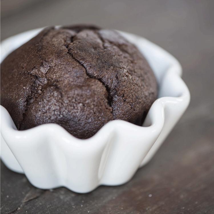 Muffinsformar Pure white 6 st
