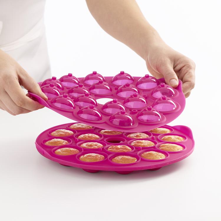Lékué Cakepopform Cerise