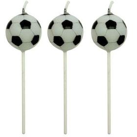 PME Tårtljus Fotbollar 4 st