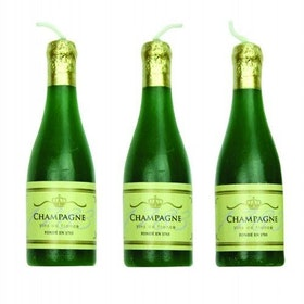 Tårtljus Champagne 6 st