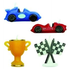 PME Tårtljus Racerbilar