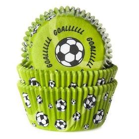 Muffinsformar Fotboll Grön