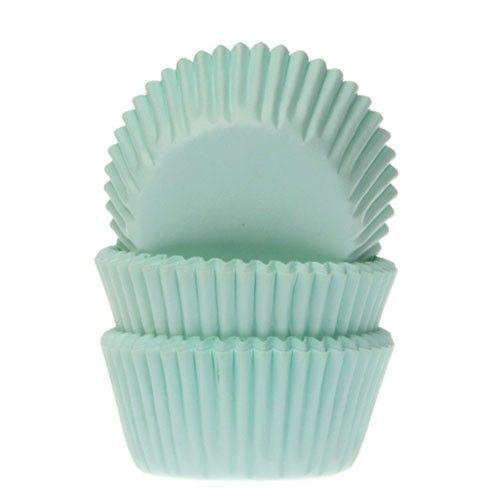 Minimuffinsformar Mintgrön