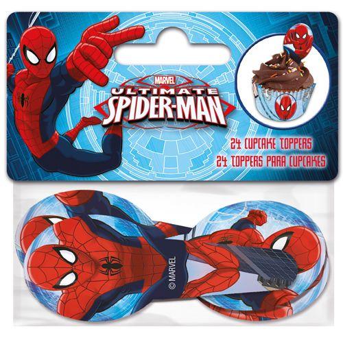 Cupcake Toppers Spindelmannen