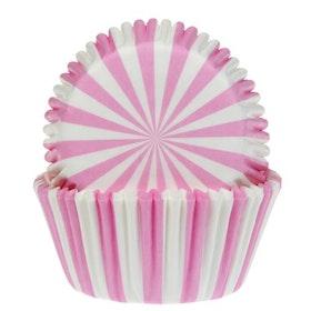 Muffinsformar Cirkus Rosa