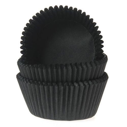 Muffinsformar Svarta