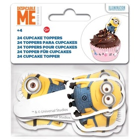 Cupcake Toppers Minioner