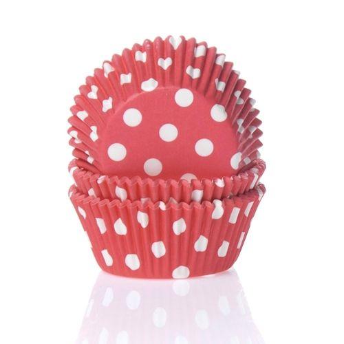Muffinsformar Röda med Vita Prickar