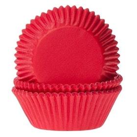 Muffinsformar Röda
