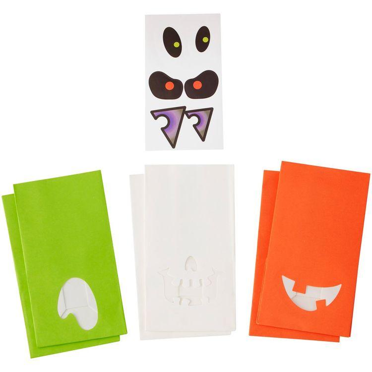 Godispåsar Halloween med Stickers 6-pack