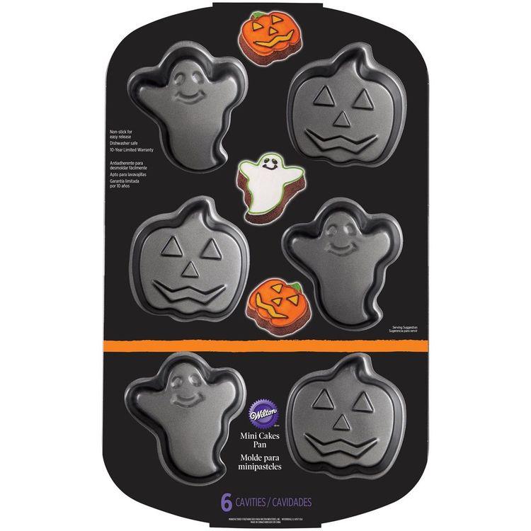 Wilton Bakplåt Halloween Pumpa & Spöke
