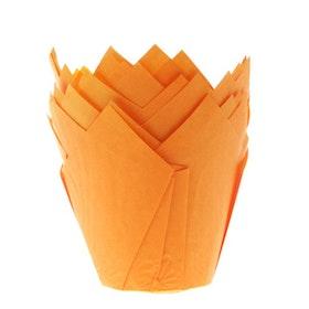 Muffinsformar Tulpanformade Orange