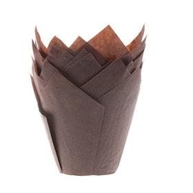 Muffinsformar Tulip Bruna