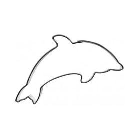 Pepparkaksform Delfin
