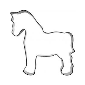 Pepparkaksform Häst