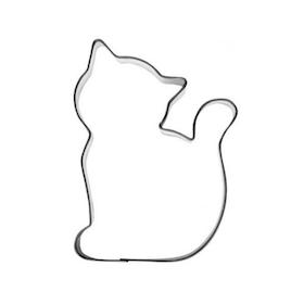Pepparkaksform Katt