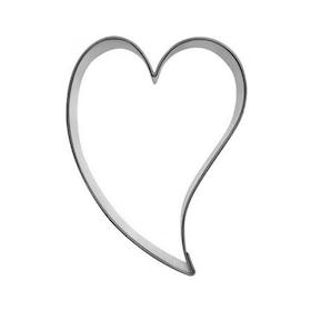Pepparkaksform Hjärta Snett