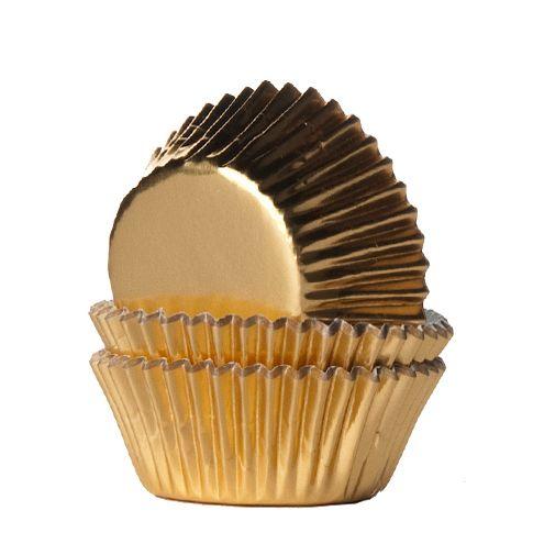 Minimuffinsformar Guld