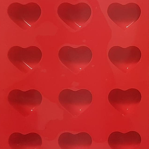 Pralinform Hjärtan