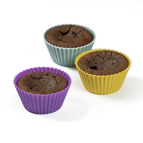 Muffinsformar i Silikon 12-pack