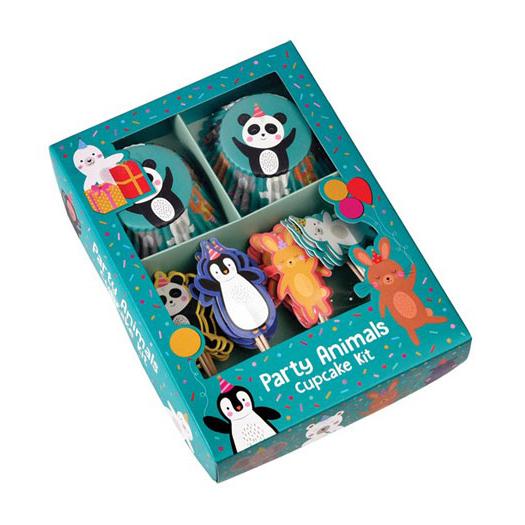 Cupcake Kit Party Animals