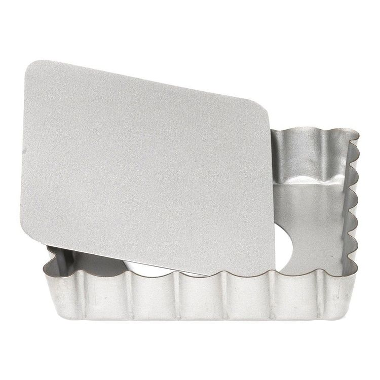 Patisse Kvadratisk Pajform Mini 10 cm Löstagbar Botten