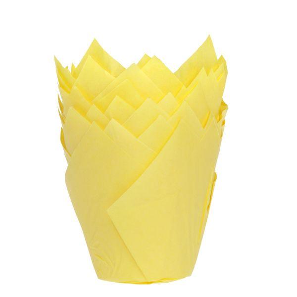 Muffinsformar Tulip Gul