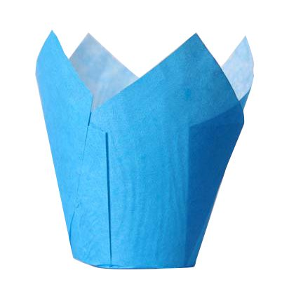 Muffinsformar Tulip Blå
