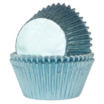 Minimuffinsformar Folie Babyblå