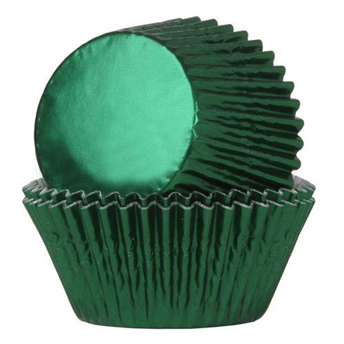 Muffinsformar Folie Grön