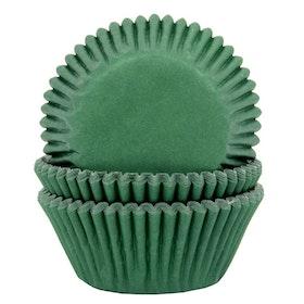 Muffinsformar Mörkgröna