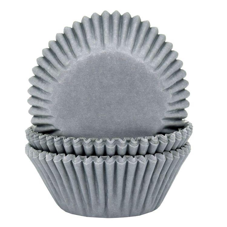 Muffinsformar Grå