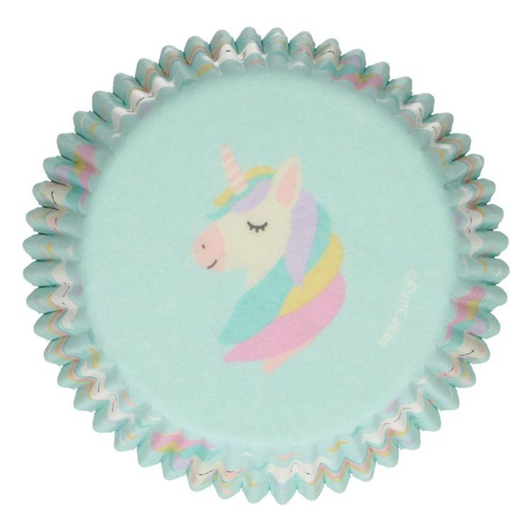 Muffinsformar Enhörningar