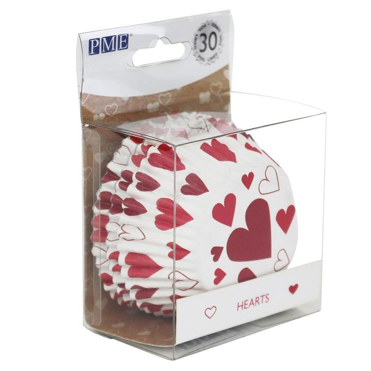 Muffinsformar Hjärtan