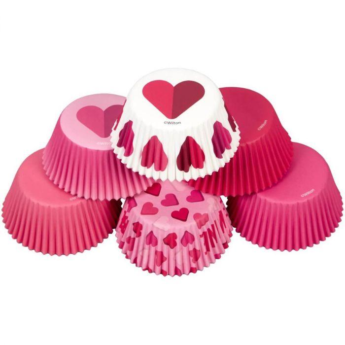 Muffinsformar Storpack Love 150 st