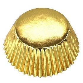 Muffinsformar Guld