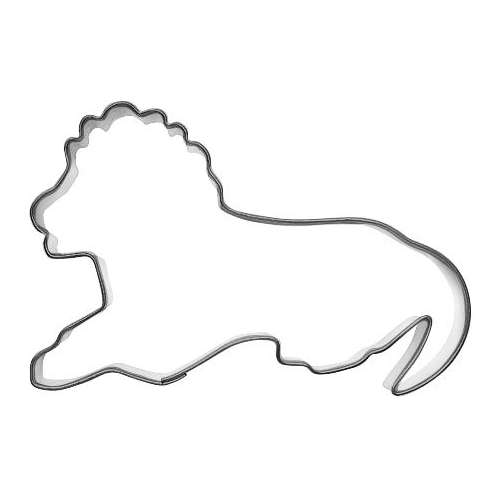 Pepparkaksform Lejon