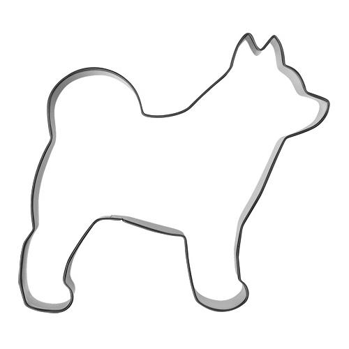 Pepparkaksform Spetshund