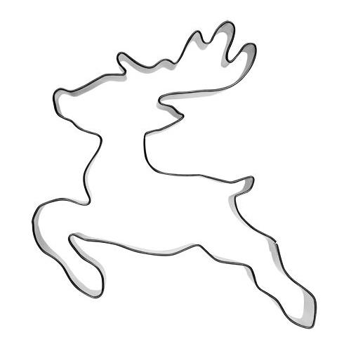 Pepparkaksform Rudolf