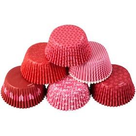 Muffinsformar Storpack Valentine 150 st