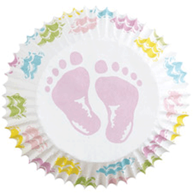 Muffinsformar Baby Feet