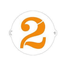 Schablon 2:a 25 cm