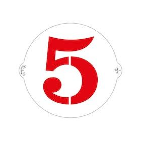 Schablon 5:a 25 cm