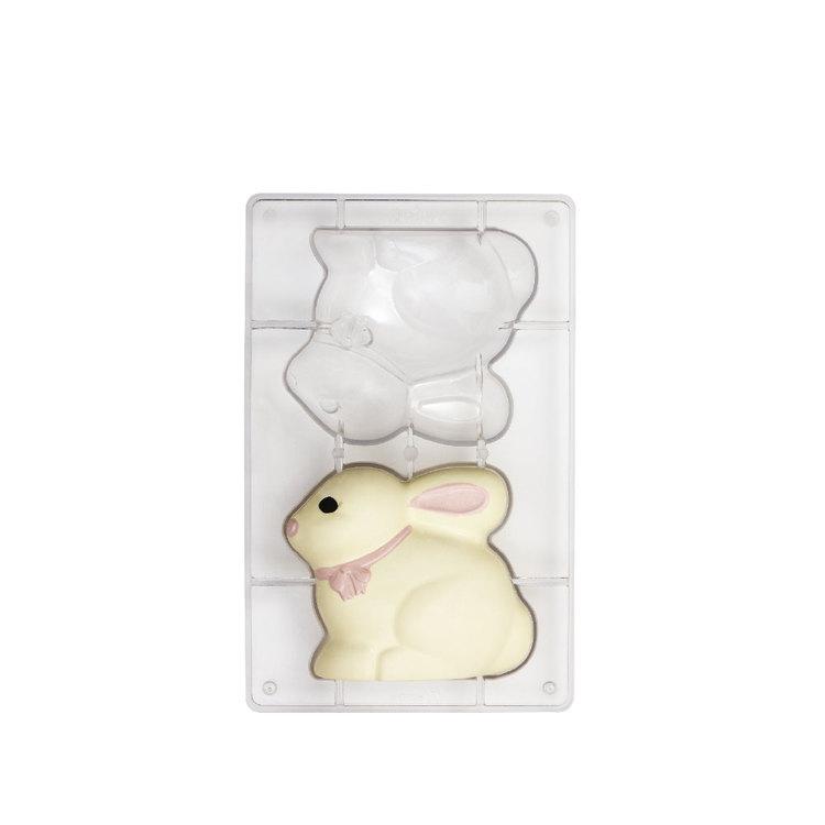 Chokladform Kanin 9 x 8 cm